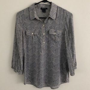 Lucky Brand Button Up Blouse XS